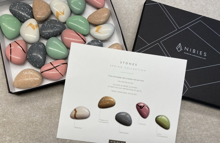 Stones Spring Collection chocolade pralines